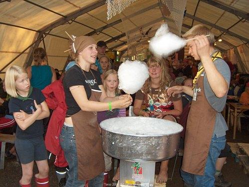 Sockervaddet på Hard Stock Cafe var mycket populärt på Tarus