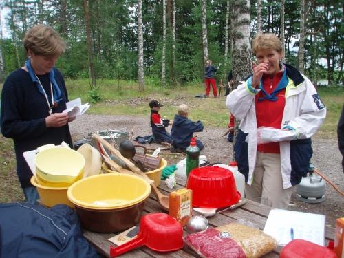 Lägerliv på BP-2007