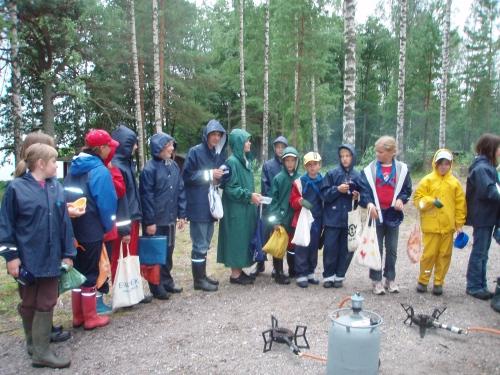 Hungriga scouter på BP-2007